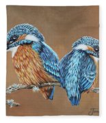Kingfishers Fleece Blanket