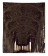 King's College Chapel Fleece Blanket
