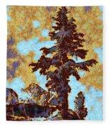 Kings River Canyon Colorized Fleece Blanket