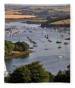 Kingsbridge Estuary Devon Fleece Blanket