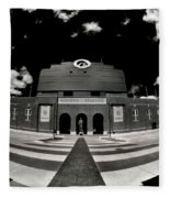 Kinnick Stadium Fleece Blanket
