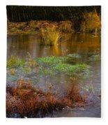 Kintbury Newt Ponds Fleece Blanket