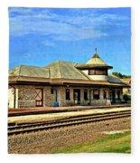 Kirkwood Station Fleece Blanket