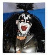 Kiss-the Coat Of Armor Fleece Blanket