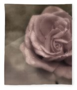 Kissed By The Rain Fleece Blanket