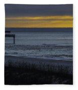 Kisses At Sunrise Fleece Blanket