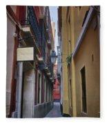 Kissing Lanes Seville Fleece Blanket