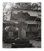 Kita-in Temple In Kawagoe Fleece Blanket