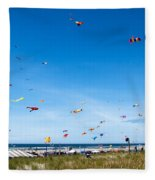 Kite Festial Fleece Blanket