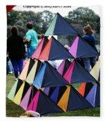 Kite Show Fleece Blanket