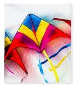 Kites Fleece Blanket