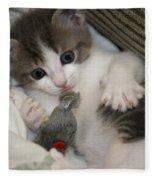 Kitty Claws Fleece Blanket