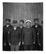 Kitty Hawk Crew, 1900 Fleece Blanket