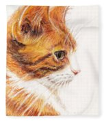 Kitty Kat Iphone Cases Smart Phones Cells And Mobile Cases Carole Spandau Cbs Art 338 Fleece Blanket