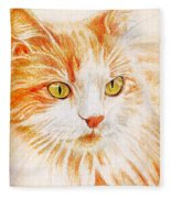 Kitty Kat Iphone Cases Smart Phones Cells And Mobile Cases Carole Spandau Cbs Art 344 Fleece Blanket