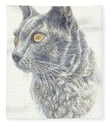 Kitty Kat Iphone Cases Smart Phones Cells And Mobile Cases Carole Spandau Cbs Art 347 Fleece Blanket