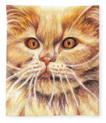 Kitty Kat Iphone Cases Smart Phones Cells And Mobile Cases Carole Spandau Cbs Art 351 Fleece Blanket