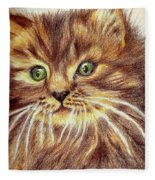 Kitty Kat Iphone Cases Smart Phones Cells And Mobile Phone Cases Carole Spandau 317 Fleece Blanket
