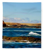 Kitty Miller Bay Fleece Blanket