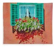 Kitzbuhel Window Fleece Blanket