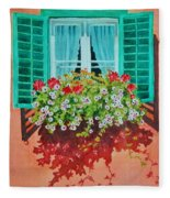 Kitzbuhel Window Fleece Blanket