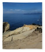 Kiwanda Beach Fleece Blanket