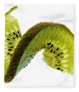 Kiwi With A Twist Fleece Blanket