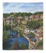 Knaresborough Yorkshire Fleece Blanket