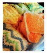 Knitting For Baby Fleece Blanket