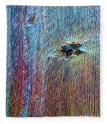 Knotty Plank #1b Fleece Blanket