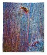 Knotty Plank #2b Fleece Blanket