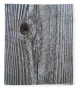 Knotty Plank #3a Fleece Blanket