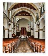 Knowles Memorial Chapel Rollins College 2 By Diana Sainz Fleece Blanket