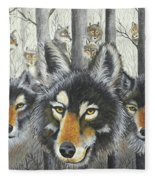 Knoxville Wolves Fleece Blanket
