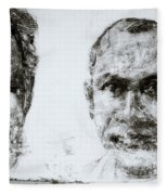 Men Of Cochin Fleece Blanket