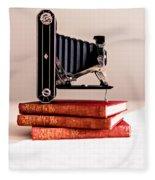 Kodak Art Deco 620 Camera Fleece Blanket