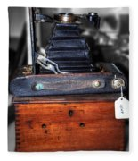 Kodak Folding Autographic Brownie 2-a Fleece Blanket