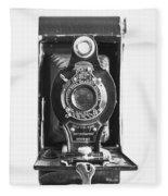 Kodak No. 2 Folding Autographic Brownie Camera Fleece Blanket