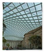 Kogod Courtyard #2 Fleece Blanket