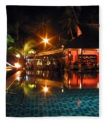Koh Samui Beach Resort Fleece Blanket