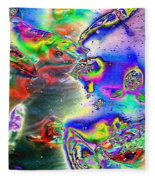 Koi Imagery Fleece Blanket