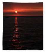 Kona Sunset Fleece Blanket