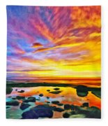 Kona Tidepool Reflections Fleece Blanket