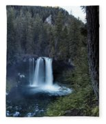 Koosah Falls No. 1 Fleece Blanket