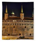 Krakow Barbican Fleece Blanket