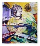 Kurt Cobain- It Aint Medicine Kurt Fleece Blanket