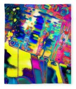 K.w.w.prism  Fleece Blanket