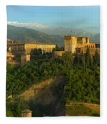 La Alhambra Palace Fleece Blanket
