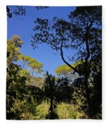 jungle in La Amistad National Park Panama 1 Fleece Blanket