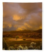 La Boca Rain Fleece Blanket